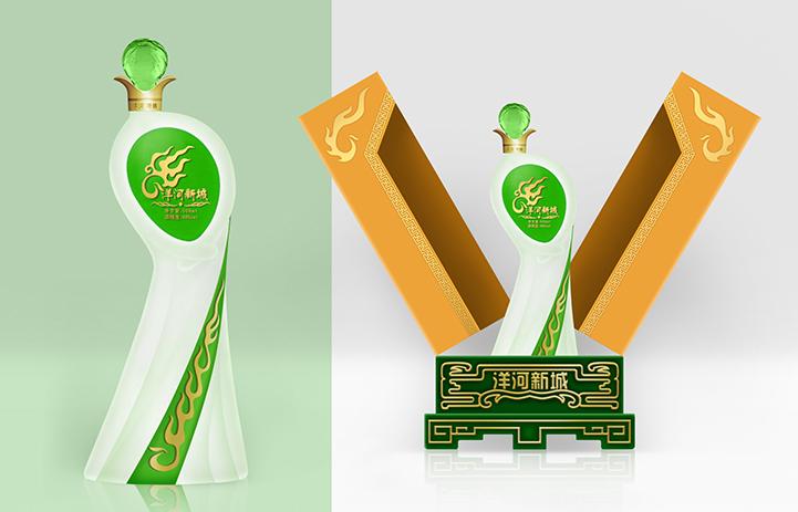 洋河集团酒瓶酒盒包装设计