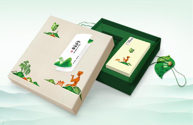 碧螺春茶葉禮盒包裝設計