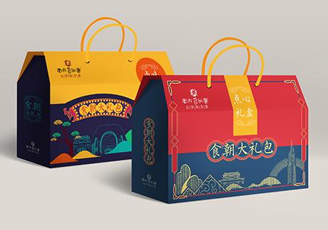 金陵食朝汇年货礼盒包装设计