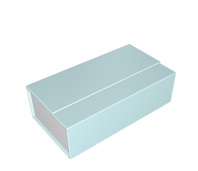 疊蓋書型盒