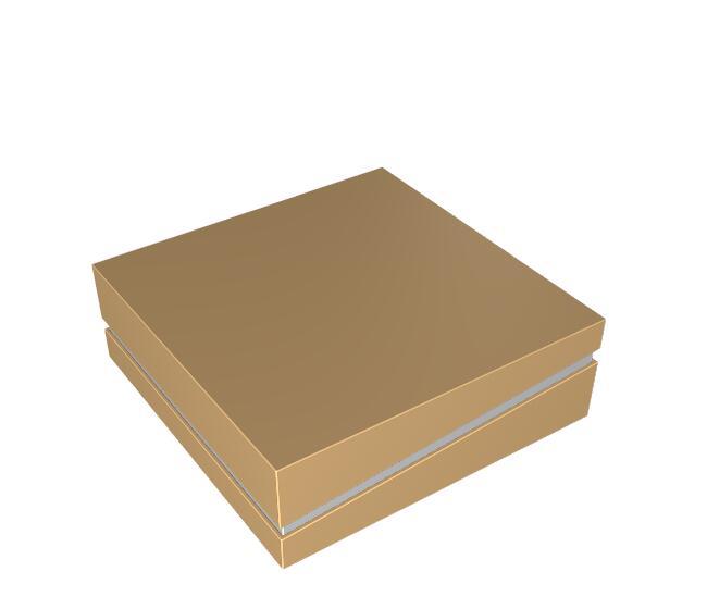 斜邊箱式盒